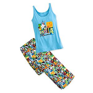 Walt Disney World Pajama Set for Women - 2014