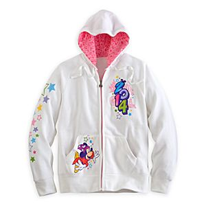 Sorcerer Mickey Mouse and Friends Hoodie for Women - Disneyland 2014