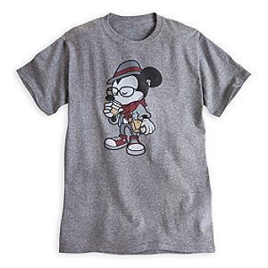 Mickey Mouse Tee for Adults - Hipster Mickey
