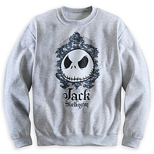 Jack Skellington Sweatshirt for Adults