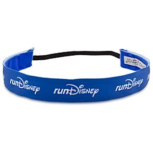 RunDisney Headband by Sweaty Bands - Blue