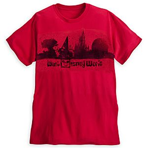 Walt Disney World Skyline Tee for Adults