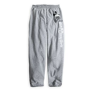 Mickey Mouse Fleece Pants for Adults - Walt Disney World