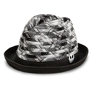 Jack Skellington Plaid Fedora for Adults