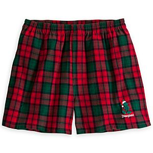 Santa Mickey Mouse Boxer Shorts for Men - Disneyland