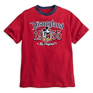 Mickey Mouse Ringer Tee for Adults - Disneyland