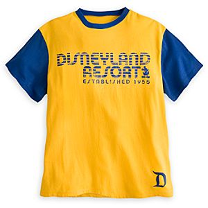 Disneyland Color Fusion Tee for Adults - Yellow & Blue