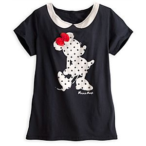 Minnie Mouse Peter Pan Collar Tee for Women