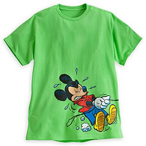 Mickey Mouse and Pluto Tee for Adults