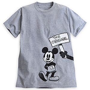 Mickey Mouse and Oswald the Lucky Rabbit Tee for Adults