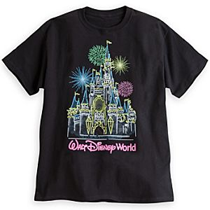 Walt Disney World Glow-in-the-Dark Tee for Adults