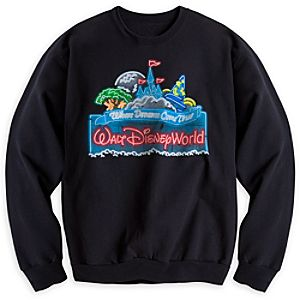 Walt Disney World Glow-in-the-Dark Sweatshirt for Adults