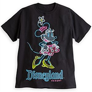 Minnie Mouse Neon Tee for Adults - Disneyland