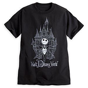 Jack Skellington Castle Tee for Adults - Walt Disney World