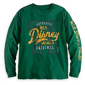 Collegiate Long Sleeve Tee for Adults - Walt Disney World