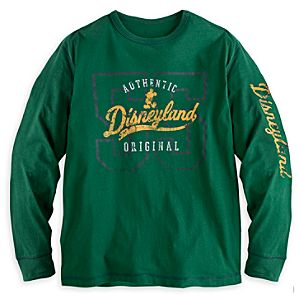 Collegiate Long Sleeve Tee for Adults - Disneyland