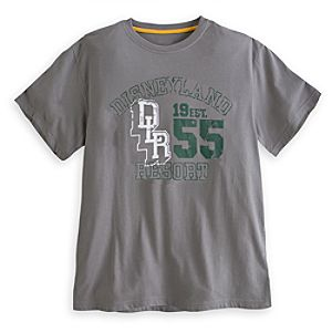 Collegiate Tee for Adults - Disneyland