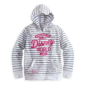 Walt Disney World Striped Hoodie for Women