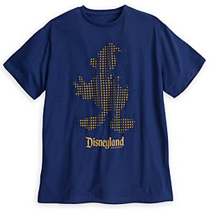 Donald Duck Cutout Tee for Men - Disneyland