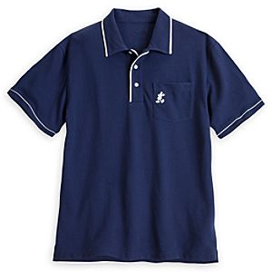 Mickey Mouse Polo Shirt for Men - Navy