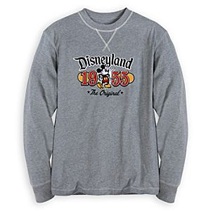 Mickey Mouse Long Sleeve Tee for Men - Disneyland