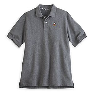 Mickey Mouse Polo for Men - Gray
