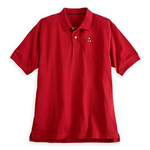 Mickey Mouse Polo for Men - Red