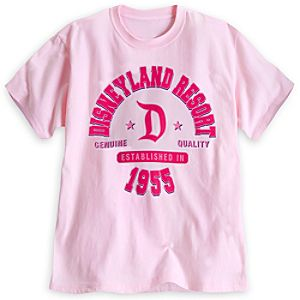 Disneyland Resort Athletic Tee for Adults - Pink