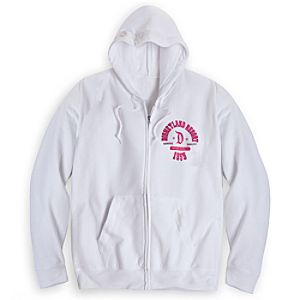 Disneyland Athletic Hoodie for Women - White