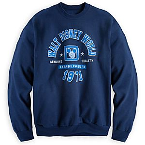 Walt Disney World Athletic Sweatshirt for Adults - Navy