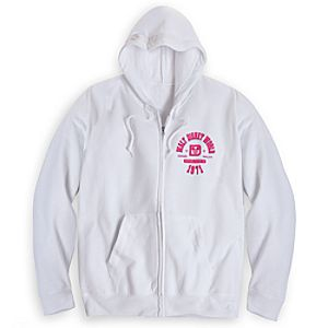 Walt Disney World Athletic Hoodie for Adults - White