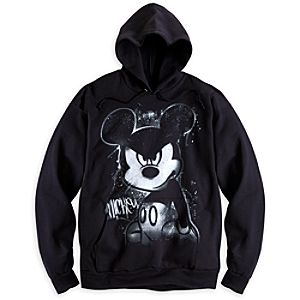 Mickey Mouse Street Art Hoodie for Adults