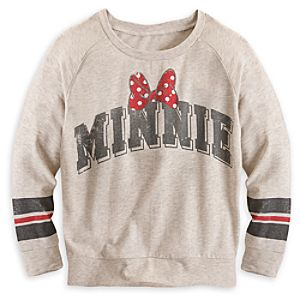Minnie Mouse Long Sleeve Raglan Tee for Women