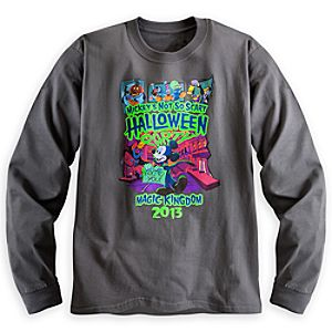 Mickeys Not So Scary Halloween Party Long Sleeve Tee for Adults - Magic Kingdom - Limited Availability