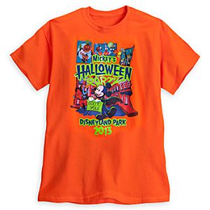 Mickeys Halloween Party Tee for Adults - Disneyland - Limited Availability