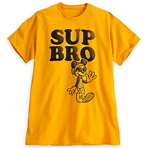 Mickey Mouse Sup Bro Tee for Adults