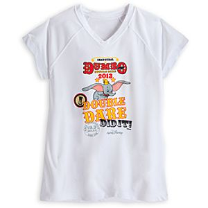 Limited Availability Commemorative RunDisney Dumbo Double Dare 2013 I Did It! Tee for Women