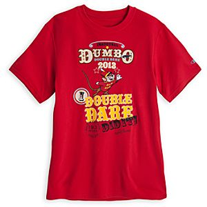 Limited Availability Commemorative RunDisney Dumbo Double Dare 2013 I Did It! Tee for Men