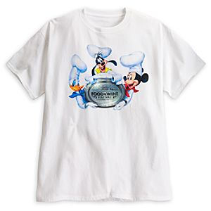 Mickey Mouse Epcot International Food & Wine Festival Tee for Adults - Limited Availability