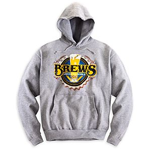 Epcot Brews Around the World Hoodie for Men - Limited Availability