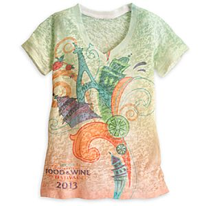 Epcot International Food & Wine Festival Tee for Women - Limited Availability