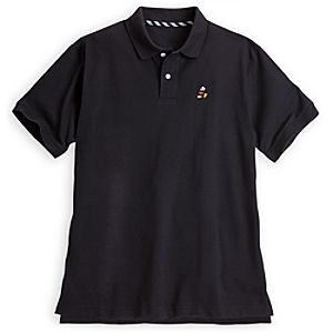 Mickey Mouse Polo for Men - Black