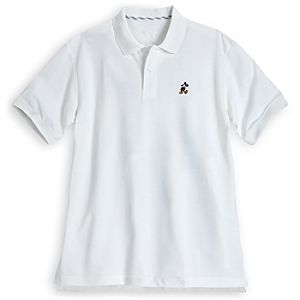 Mickey Mouse Polo for Men - White