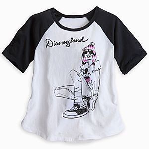 Mickey Mouse Fashion Girl Raglan Tee for Women - Disneyland