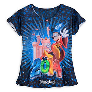 Sorcerer Mickey Mouse and Friends Tee for Women - Disneyland 2014