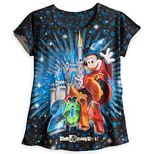 Sorcerer Mickey Mouse and Friends Tee for Women - Walt Disney World 2014
