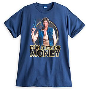 Han Solo Tee for Adults