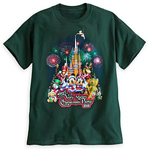 Mickeys Very Merry Christmas Party Tee for Adults - Walt Disney World - Limited Availability