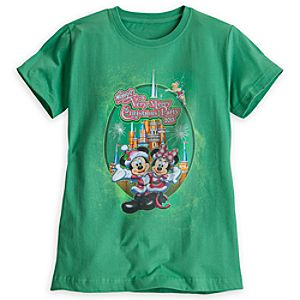 Mickeys Very Merry Christmas Party Tee for Women - Walt Disney World - Limited Availability