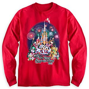 Mickeys Very Merry Christmas Party Long Sleeve Tee for Adults - Walt Disney World - Limited Availability